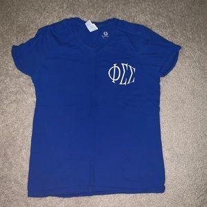 Tops - Phi Sigma Sigma shirt